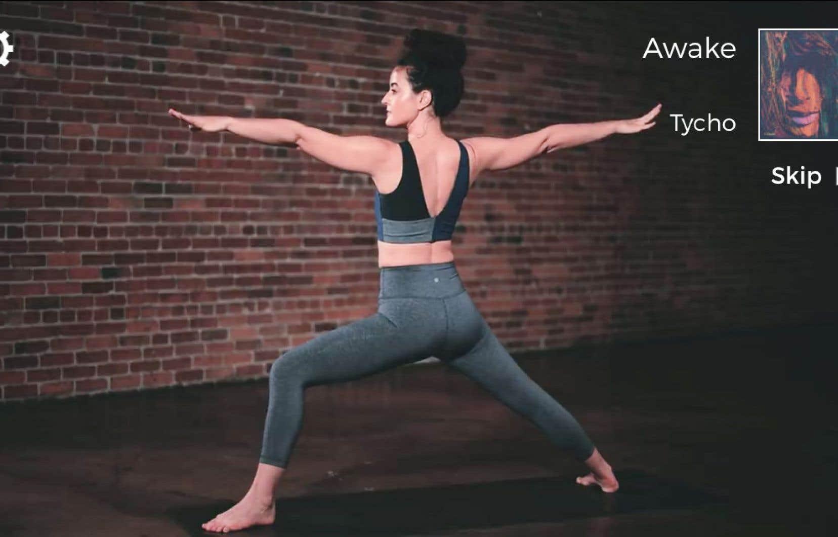 Les applications pour faire du yoga sont nombreuses, et Down Dog est parmi les meilleures.