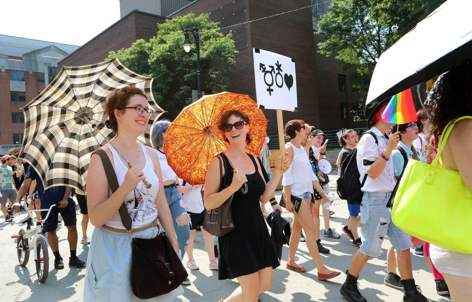 Les enjeux trans sont fréquemment discutés dans les médias et, au Québec, les opinions formulées sur le sujet semblent fortement favoriser le négatif», écrit l'auteure.