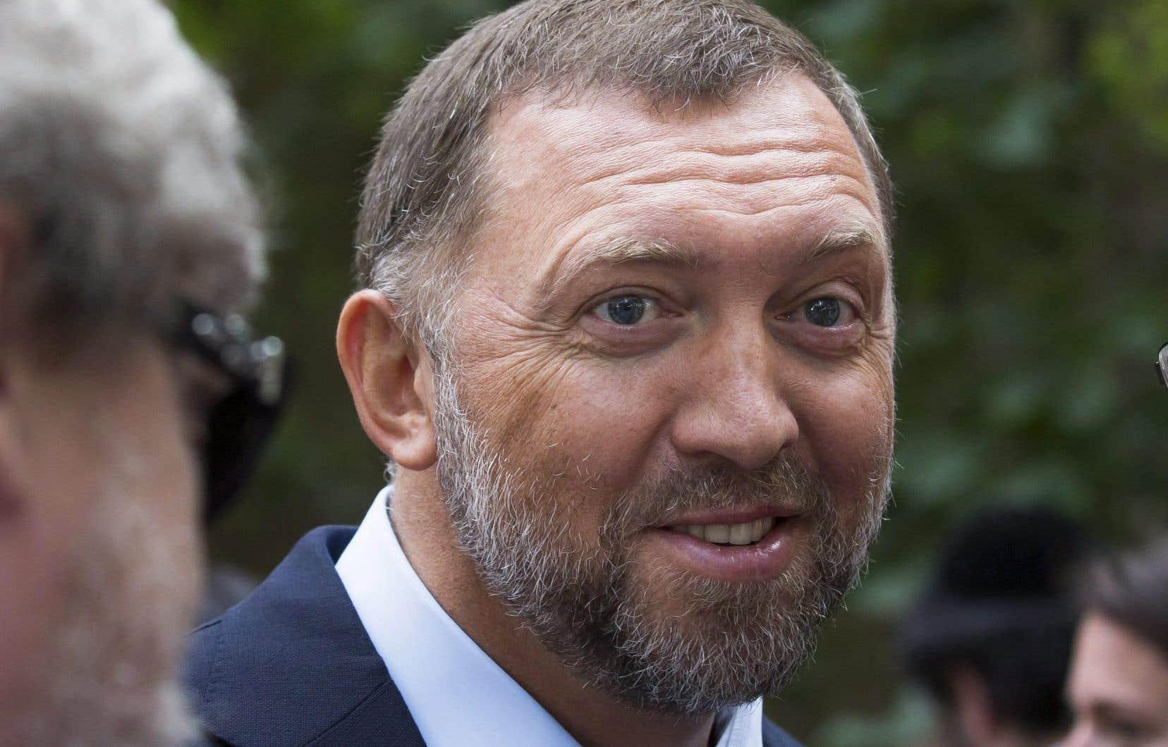L'oligarque russe Oleg Deripaska