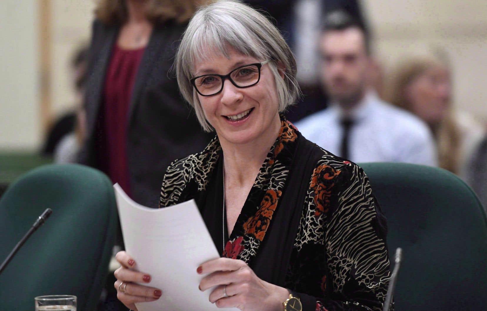 La ministre fédérale de l'Emploi,Patty Hajdu