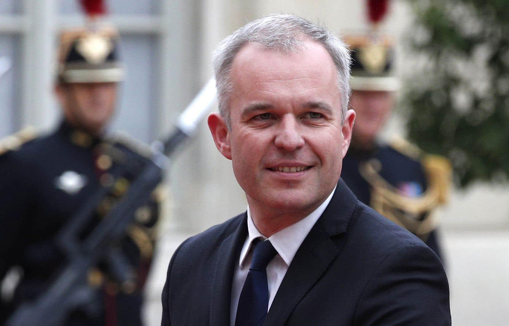 Le nouveau ministre françaisde la Transition écologique et solidaire, François de Rugy