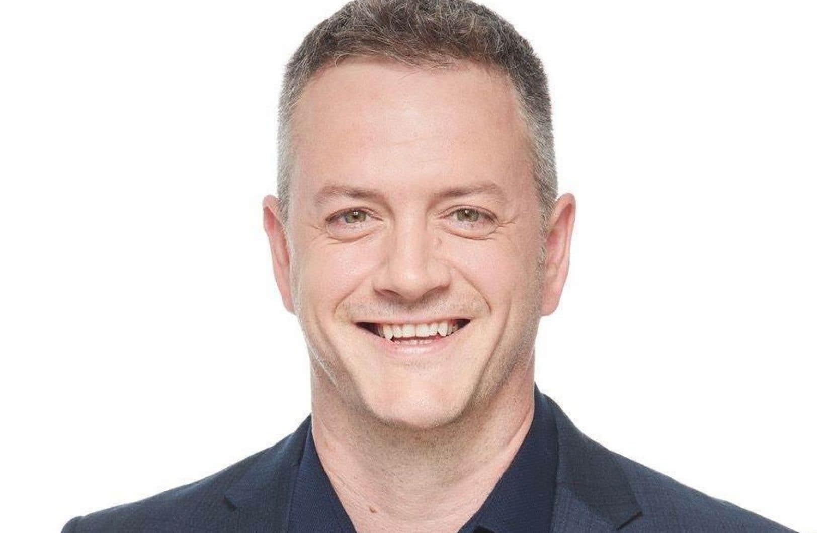 Le candidat caquiste dans Saint-Jean, Stéphane Laroche