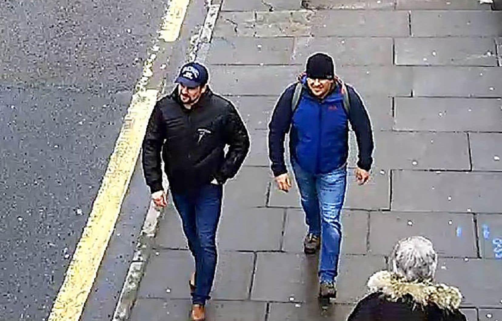 Alexander Petrov et Ruslan Bochirov sont recherchés par la police britannique.
