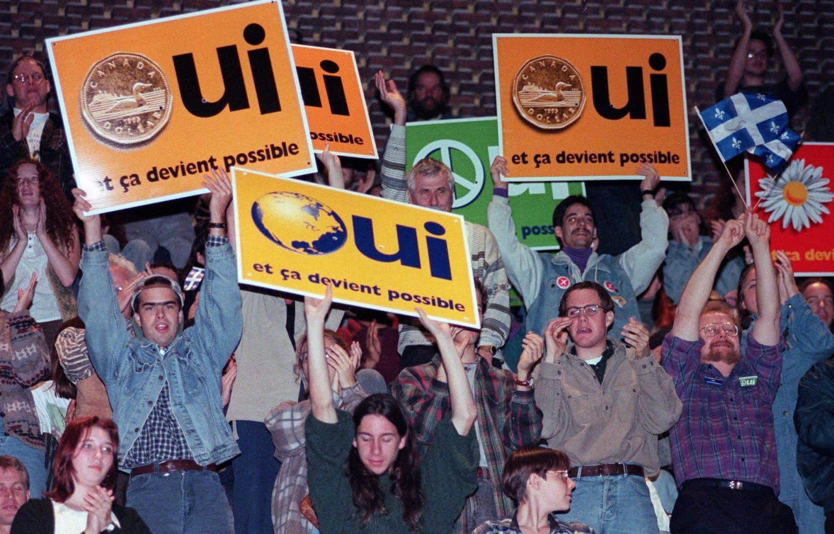 Le référendum de 1995 est l'une des dernières grandes péripéties politiques ayant affecté la nation québécoise.