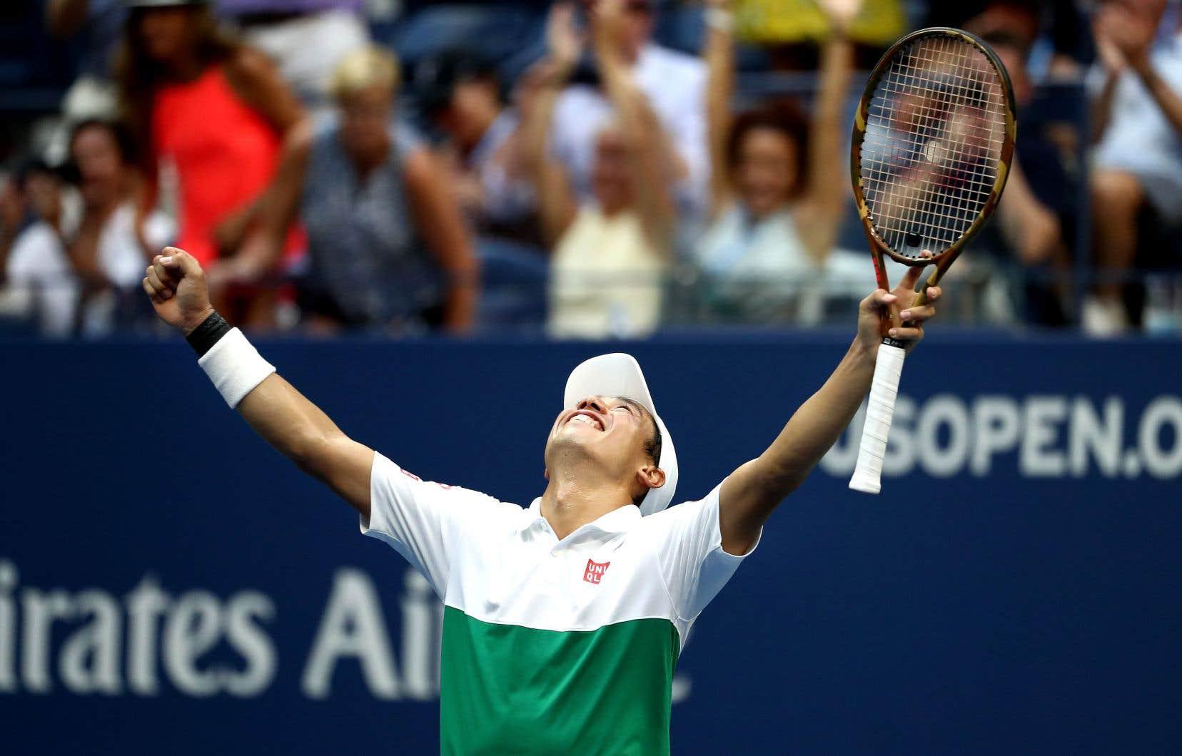 À 28ans, le Japonais Kei Nishikori confirme son retour au plus haut niveau.