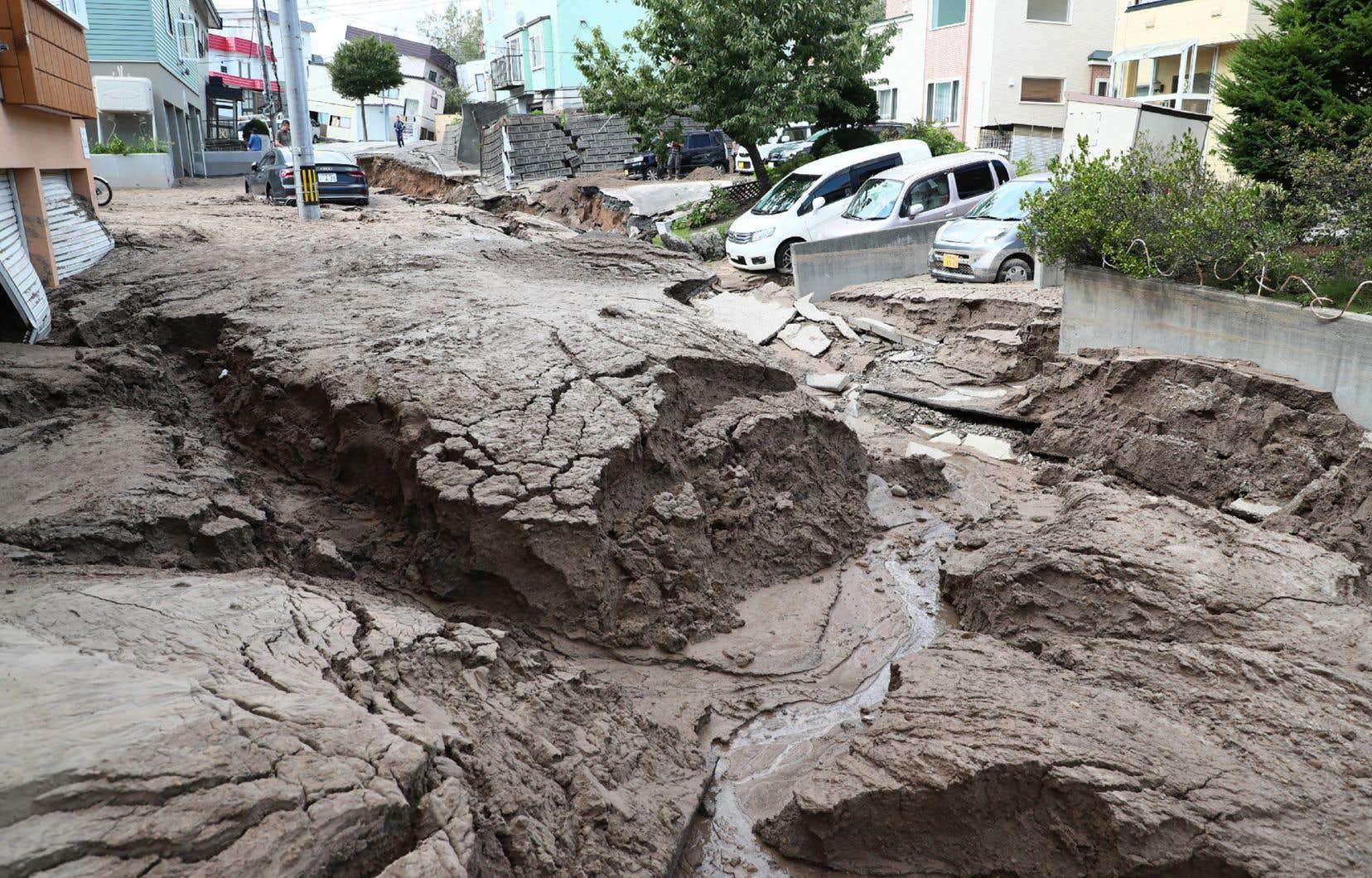 <p>Le tremblement de terre s'est produit en pleine nuit dans l'île de Hokkaido, deux jours à peine après un typhon dévastateur dans la région d'Osaka.</p>