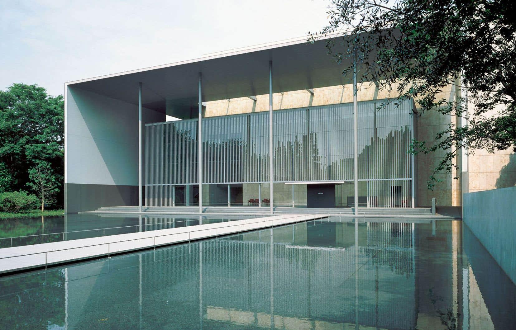 Le Musée national de Tokyo, galerie des trésors, Horyu-Ji, Taniguchi et associés, 1999