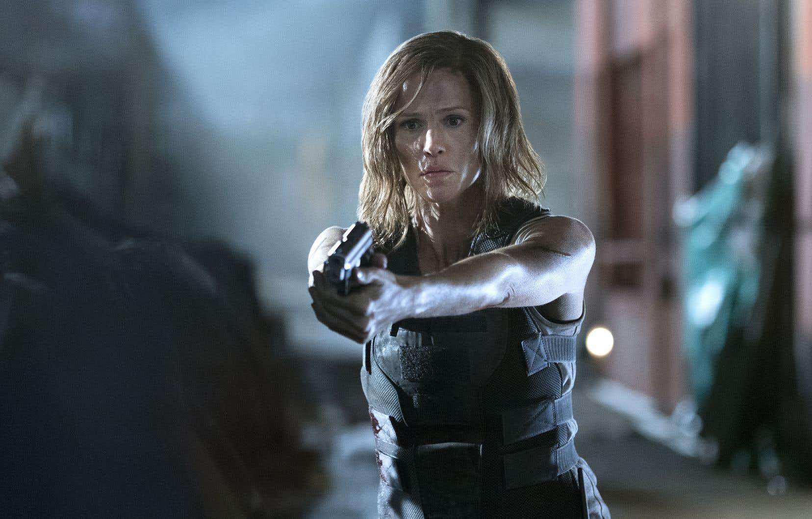 Jennifer Garner incarne Riley North, une femme prête à tout pour venger la mort de sa fille et de son conjoint.