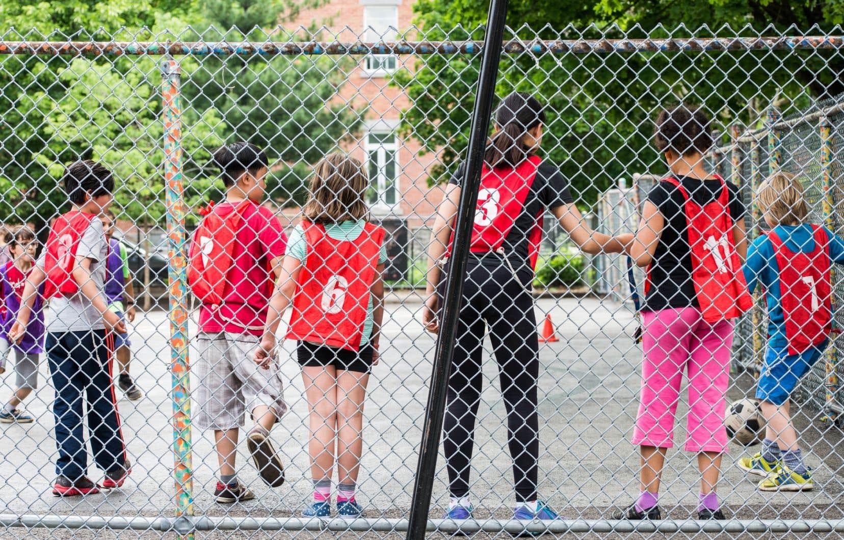 Le Parti libéral du Québec s'engage à investir 8millions pour instaurer la pratique d'activités physiques dans les écoles, précisent les auteurs.