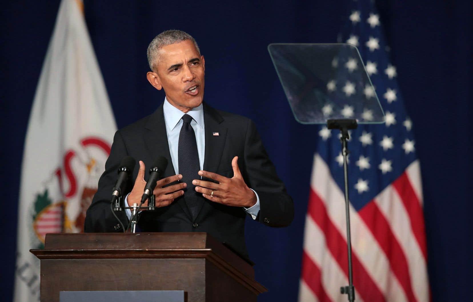 Barack Obama est revenu sur les événements des derniers jours qui ont, une nouvelle fois, secoué la Maison-Blanche.