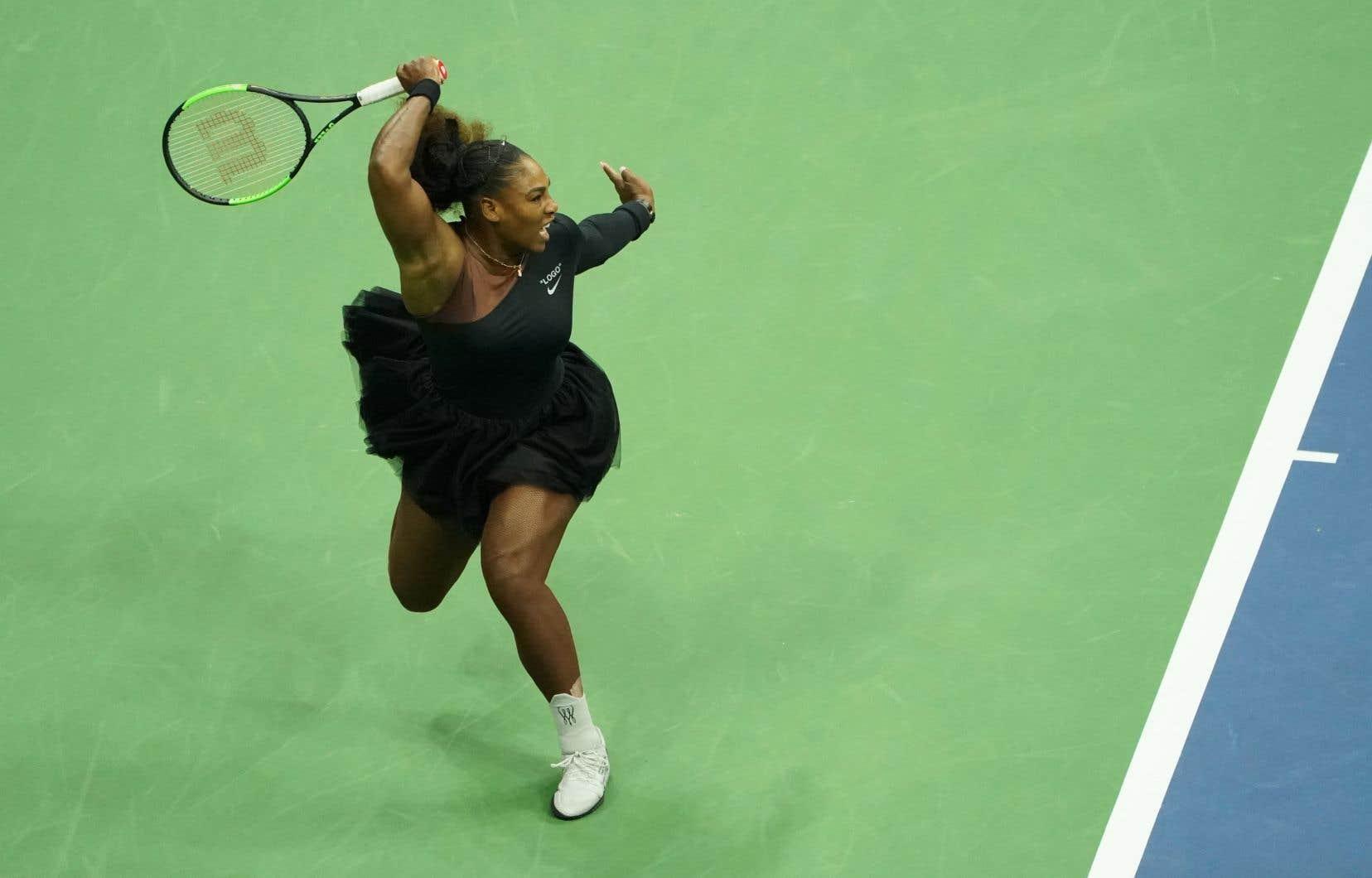 La joueuse avait été sanctionnée trois fois pendant la finale de l'US Open.