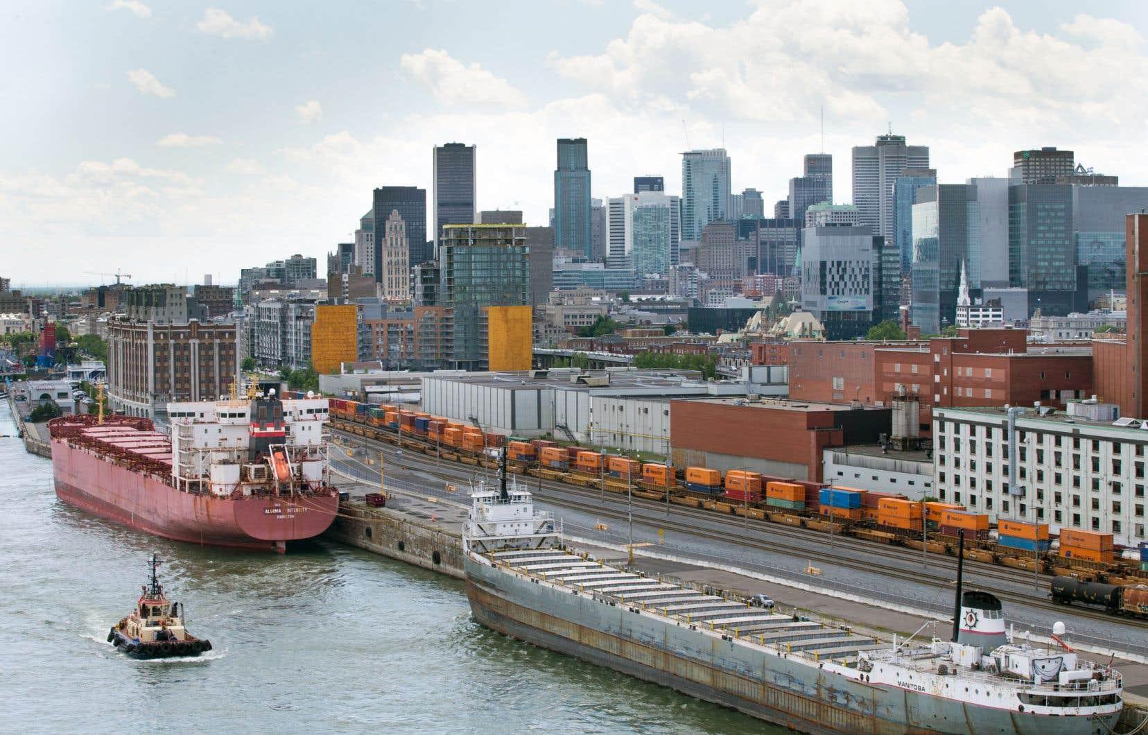 Le volume de marchandises traversant les portes du port de Montréal a bondi de 19,7% en juillet, par rapport au même mois l'an dernier.
