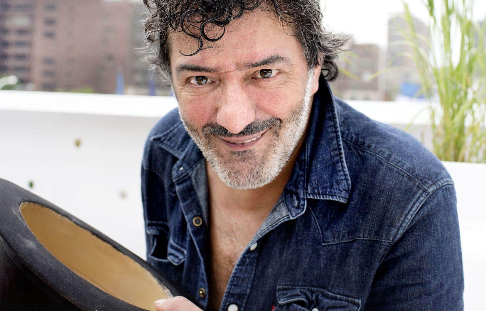 Le chanteur Rachid Taha, ici photographié dans le cadre des FrancoFolies de Montréal en 2014, était un habitué des scènes québécoises.