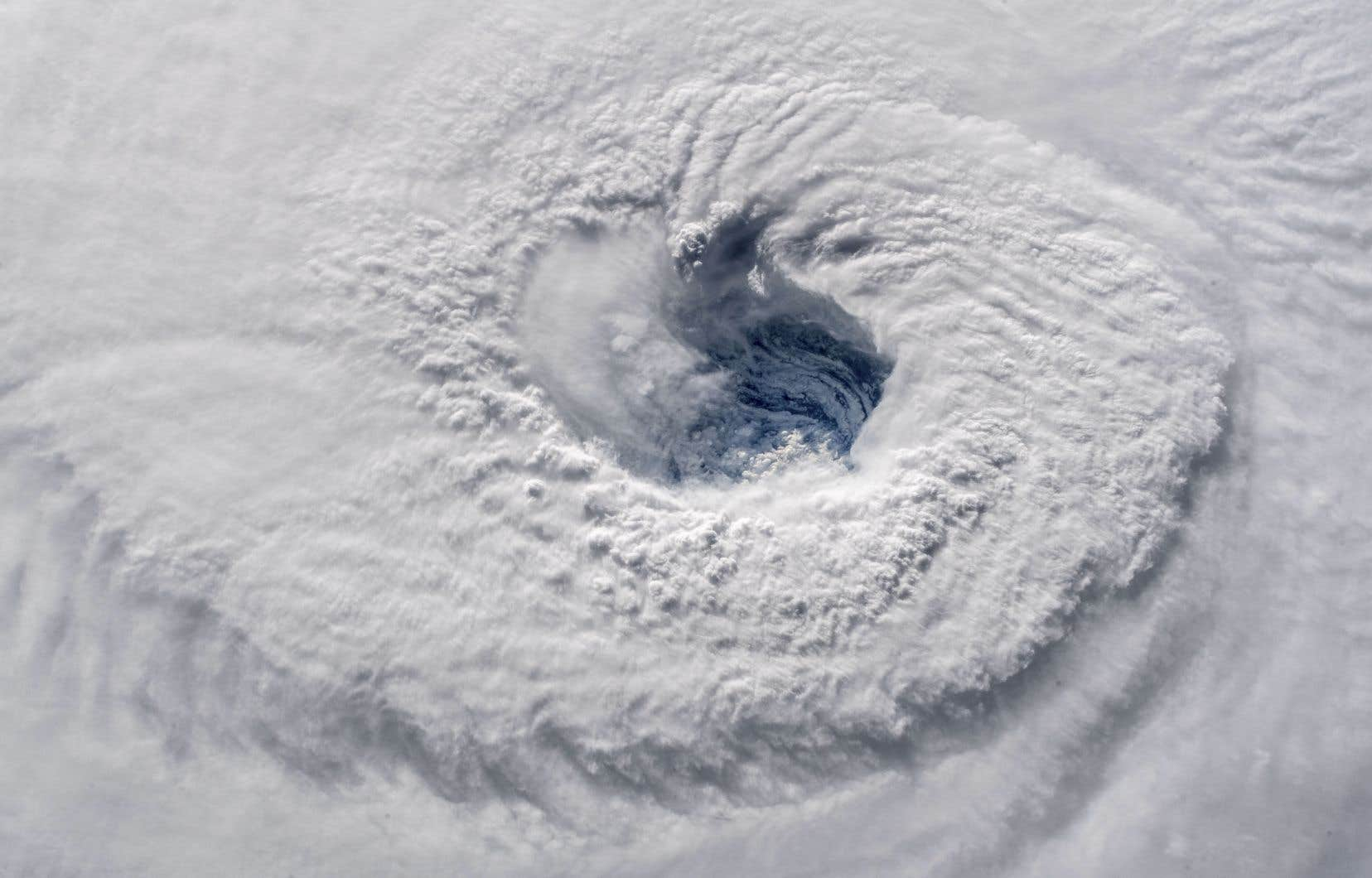 L'ouragan <em>Florence</em>, photographié depuis la Station spatiale internationale