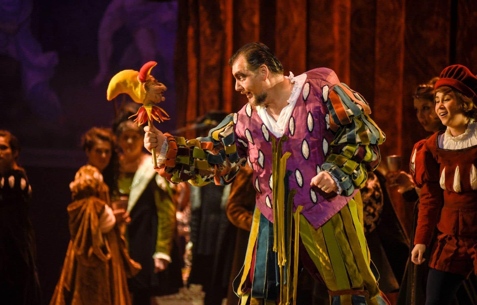 James Westman dans la peau de Rigoletto.