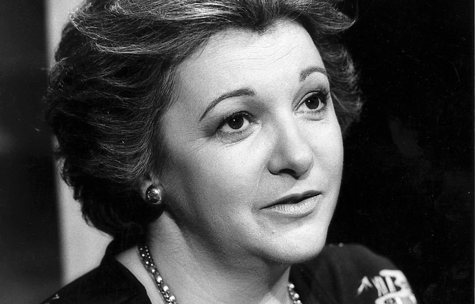 Lise Payette est décédée il y a une semaine. Les hommages à cette grande féministe ont été nombreux. Il manquait toutefois une voix à ce concert d'éloges, celle de la Fédération des femmes du Québec, qui a finalement rompu le silence jeudi.