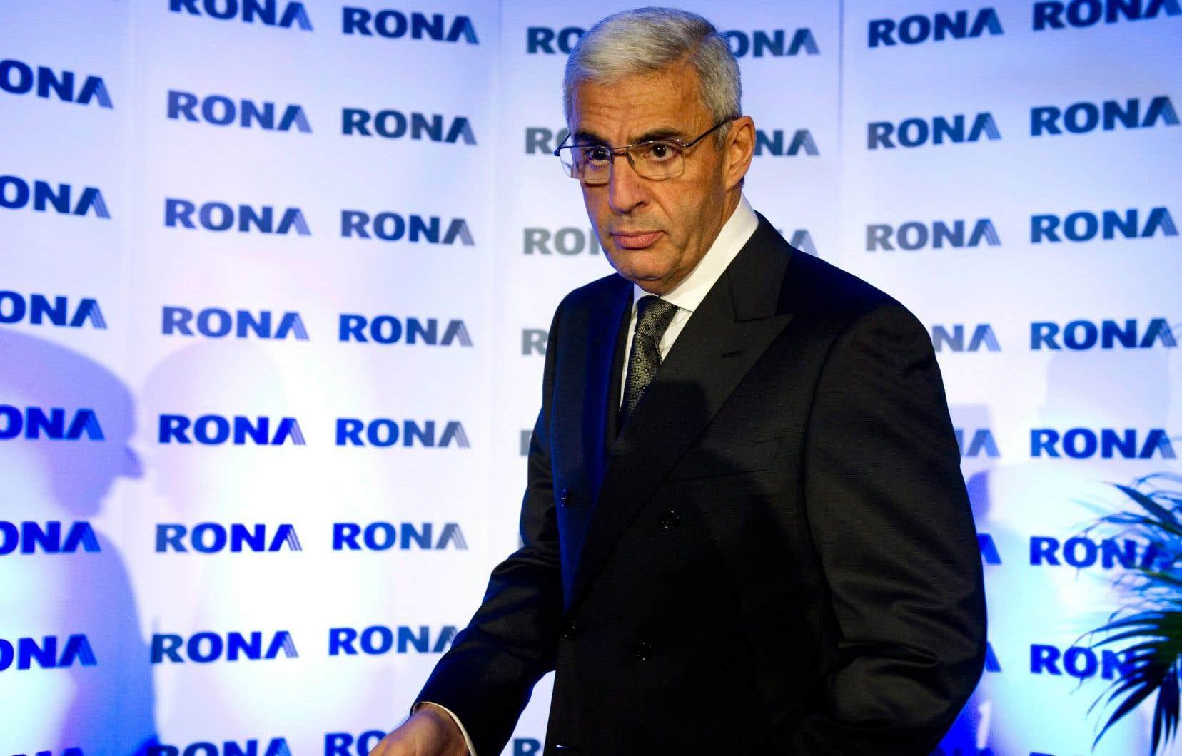 Robert Dutton en 2011, alors qu'il était chef de la direction de Rona