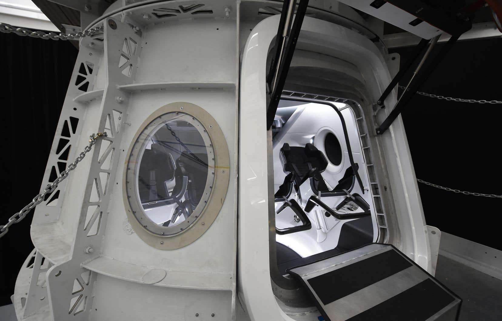 SpaceX doit théoriquement envoyer des astronautes de la Nasa vers l'ISS à partir de l'an prochain.