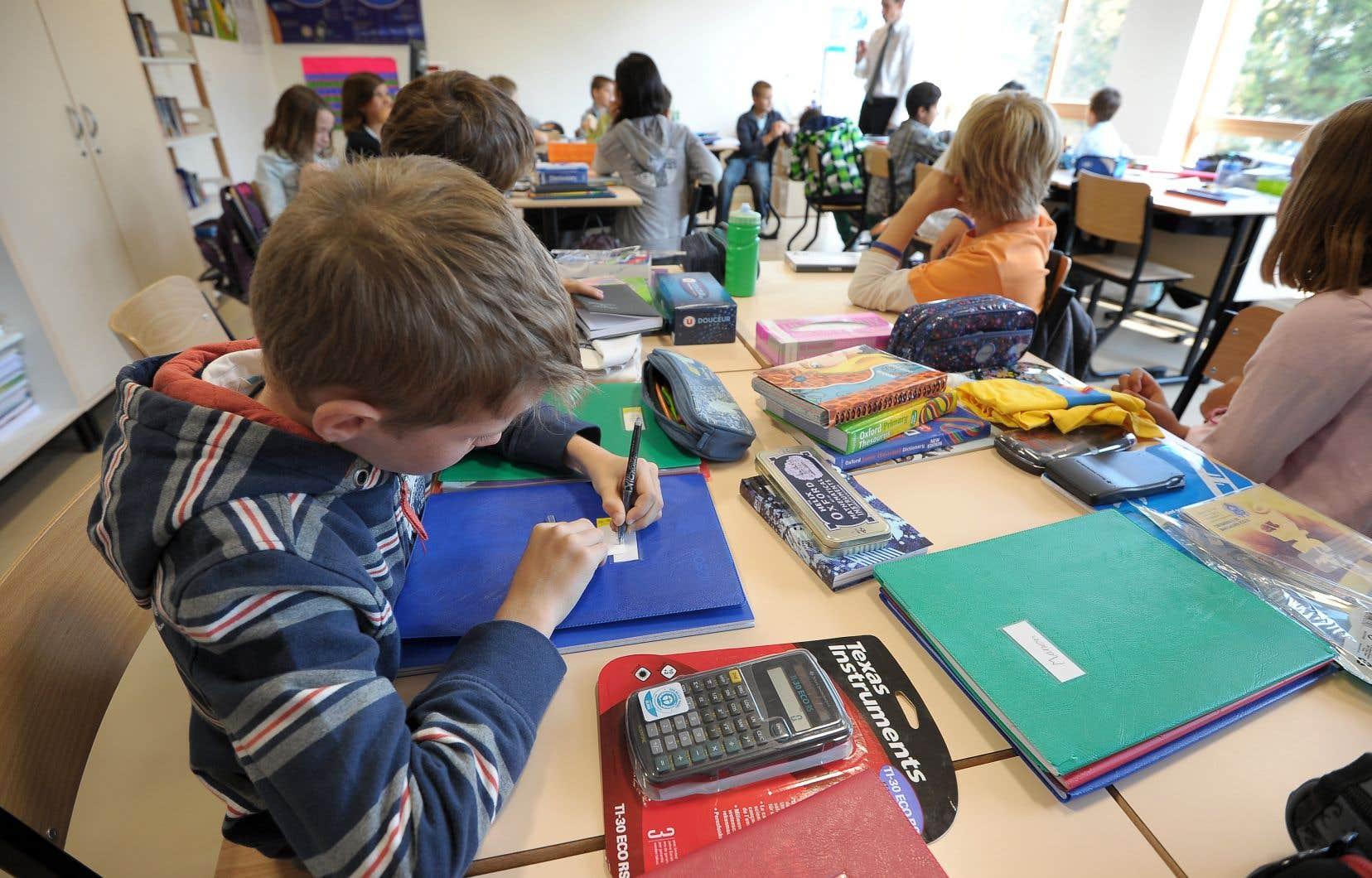 La mission première du ministère de l'Éducation est d'assurer la réussite scolaire de tous les élèves.