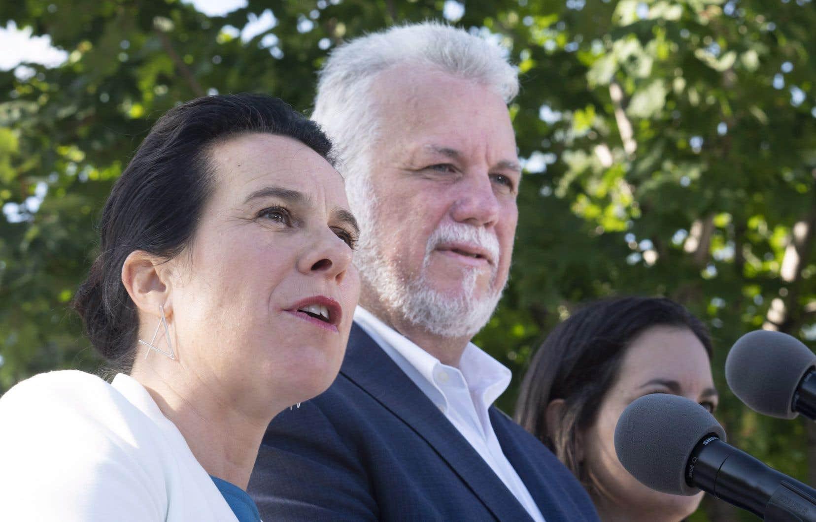 Valérie Plante a mis en avant les besoins de Montréal en main-d'œuvre pour justifier son rejet catégorique de la proposition de la Coalition avenir Québec.