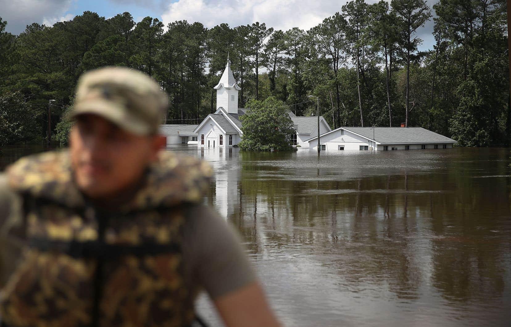 La pluie s'était arrêtée lundi, mais les précipitations ont fait déborder de nombreux cours d'eau.