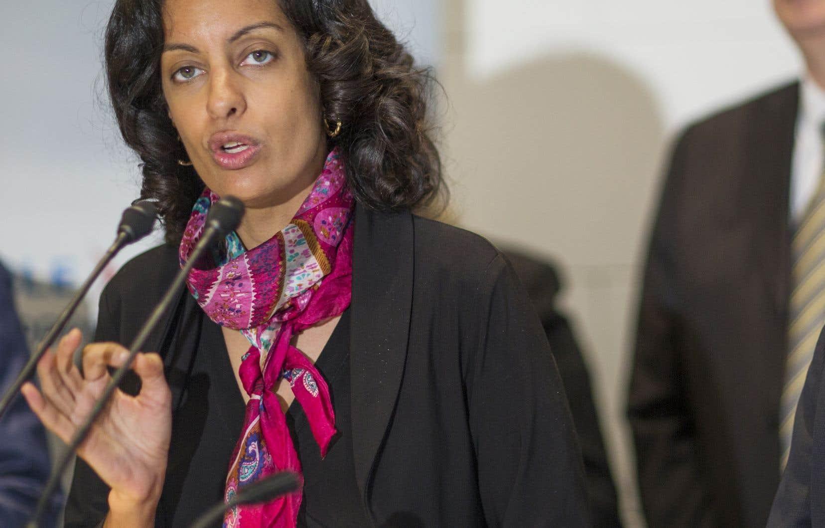 «Le Québec dispose de nombreux avantages qui lui permettent d'être particulièrement bien placé dans certains créneaux, mais le rôle du gouvernement sera essentiel», affirme la ministre Anglade.