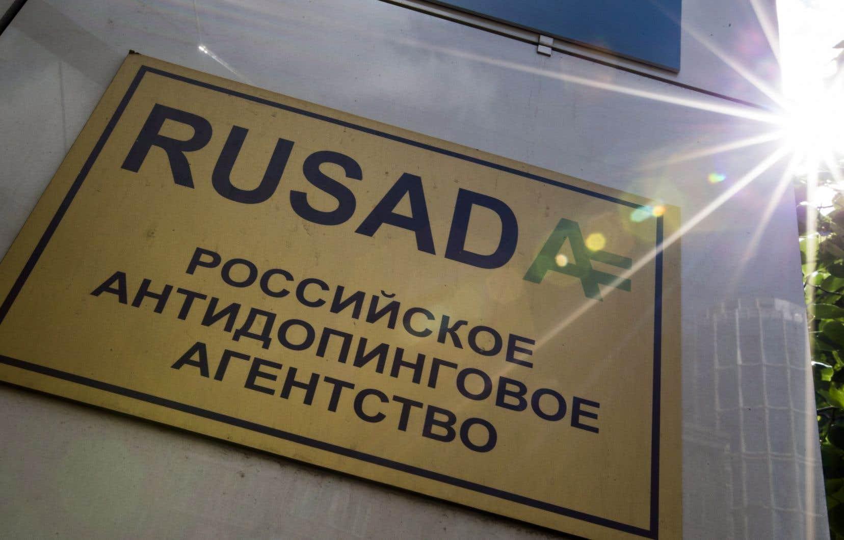 La Rusada avait été frappée de sanctions pour le système de dopage institutionnel ayant eu cours en Russie entre 2011 et 2015.