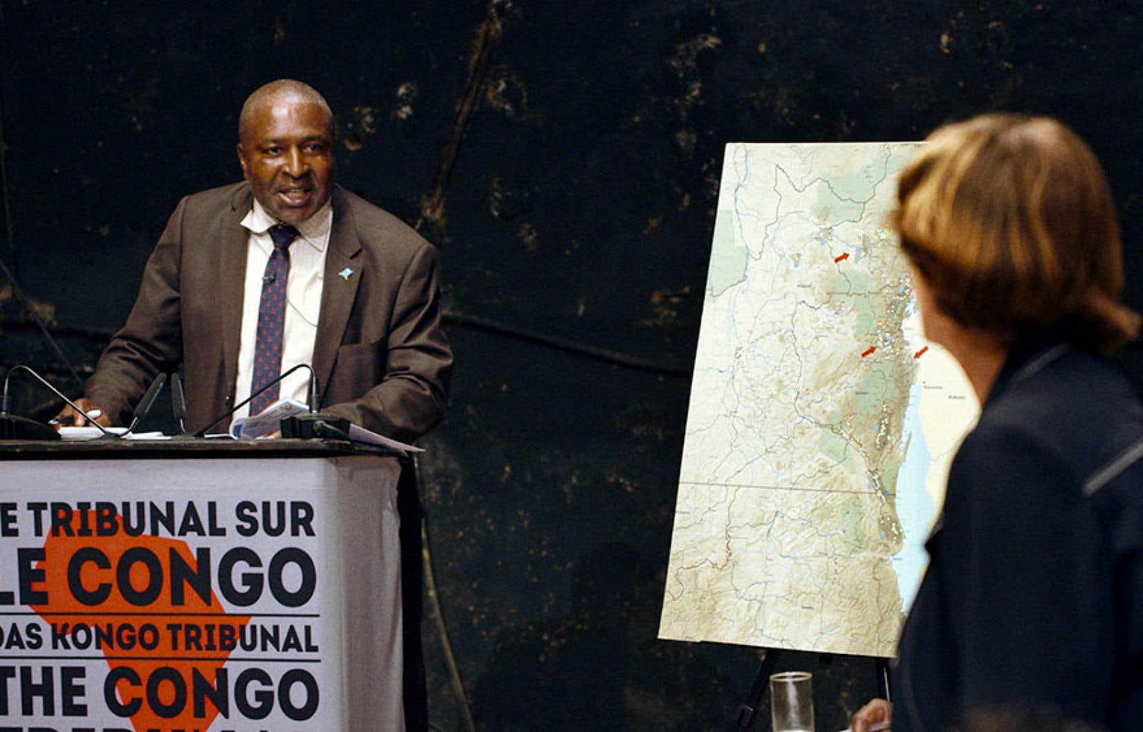 Milo Rau, <em>Tribunal sur le Congo</em>, film documentaire, image fixe, 2017