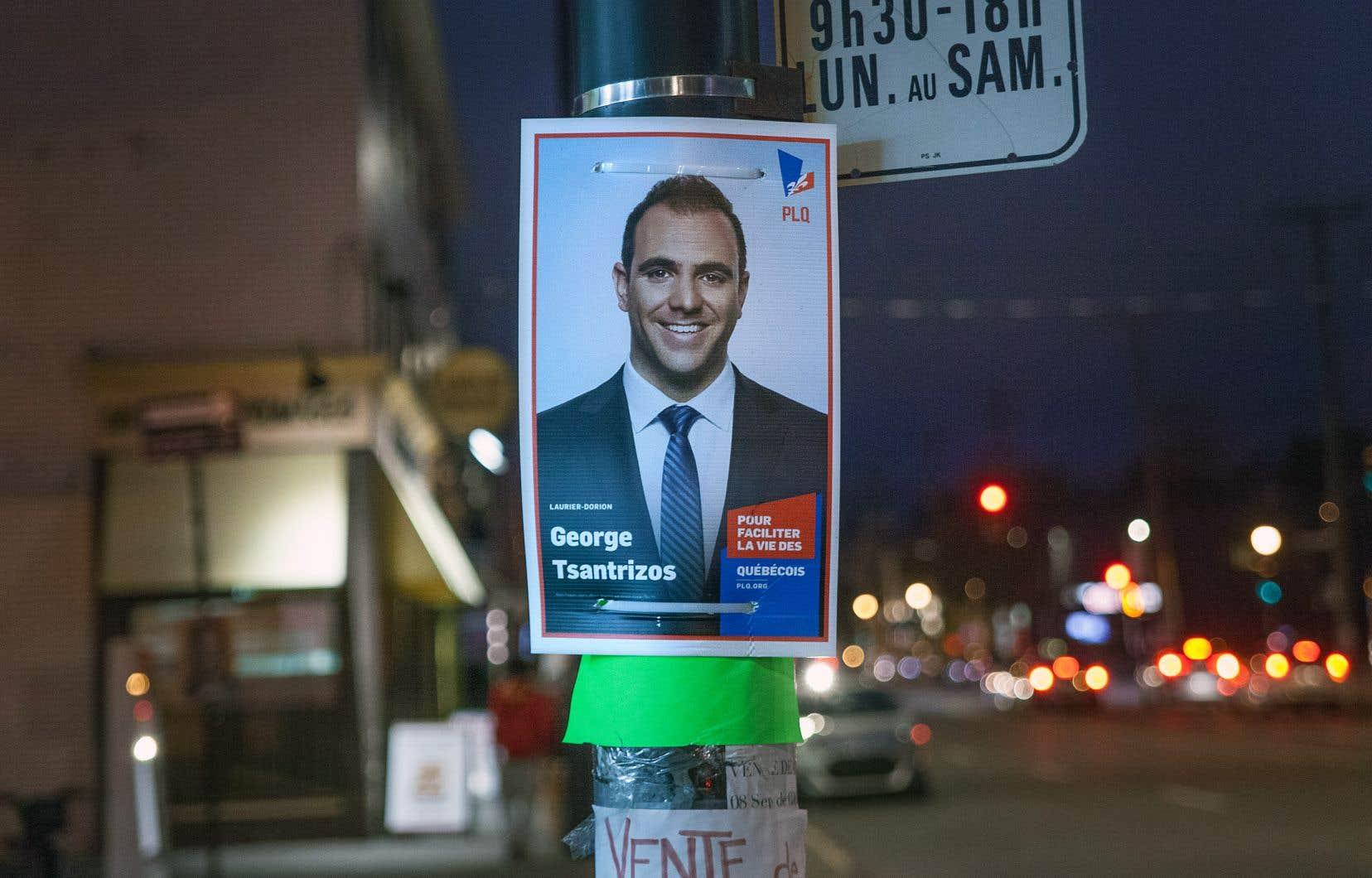 George Tsantrizos n'a accordé que deux entrevues: une au journal «Métro» et l'autre au réseau canadien Odyssey TV.