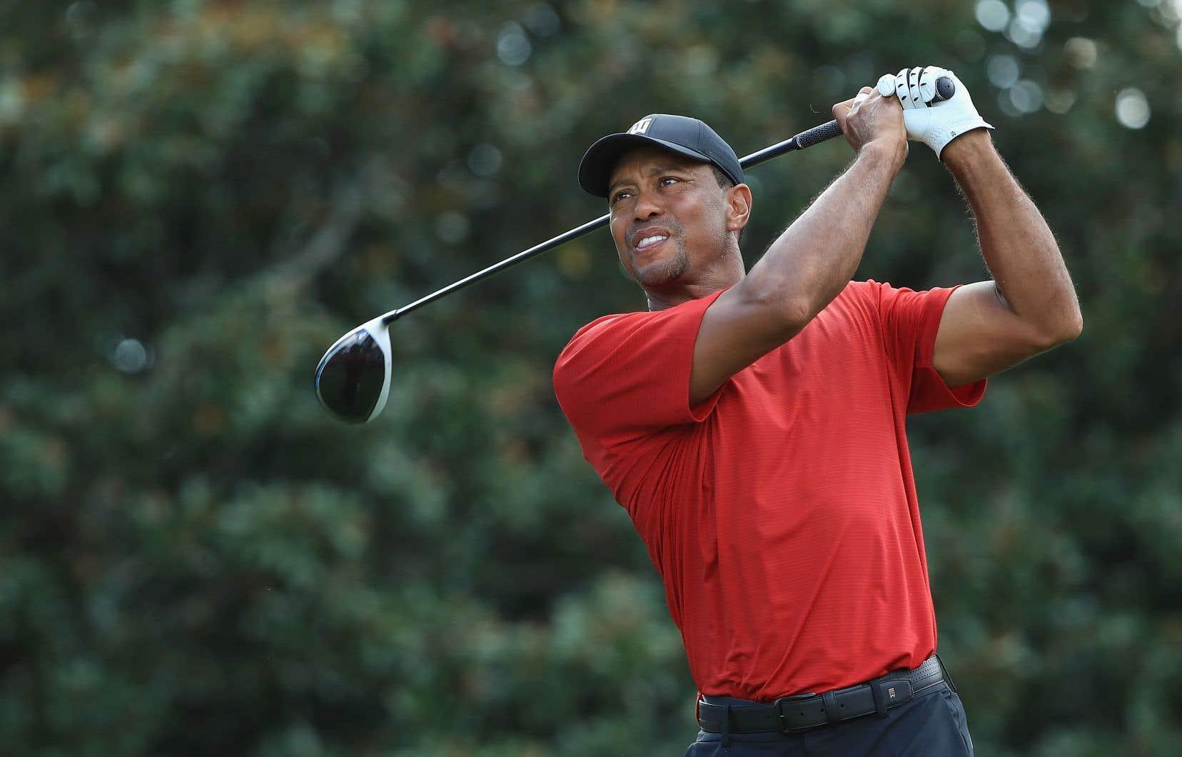 «Même en rêve, je ne pensais pas pouvoir me retrouver dans ma situation actuelle», a admis Tiger Woods.