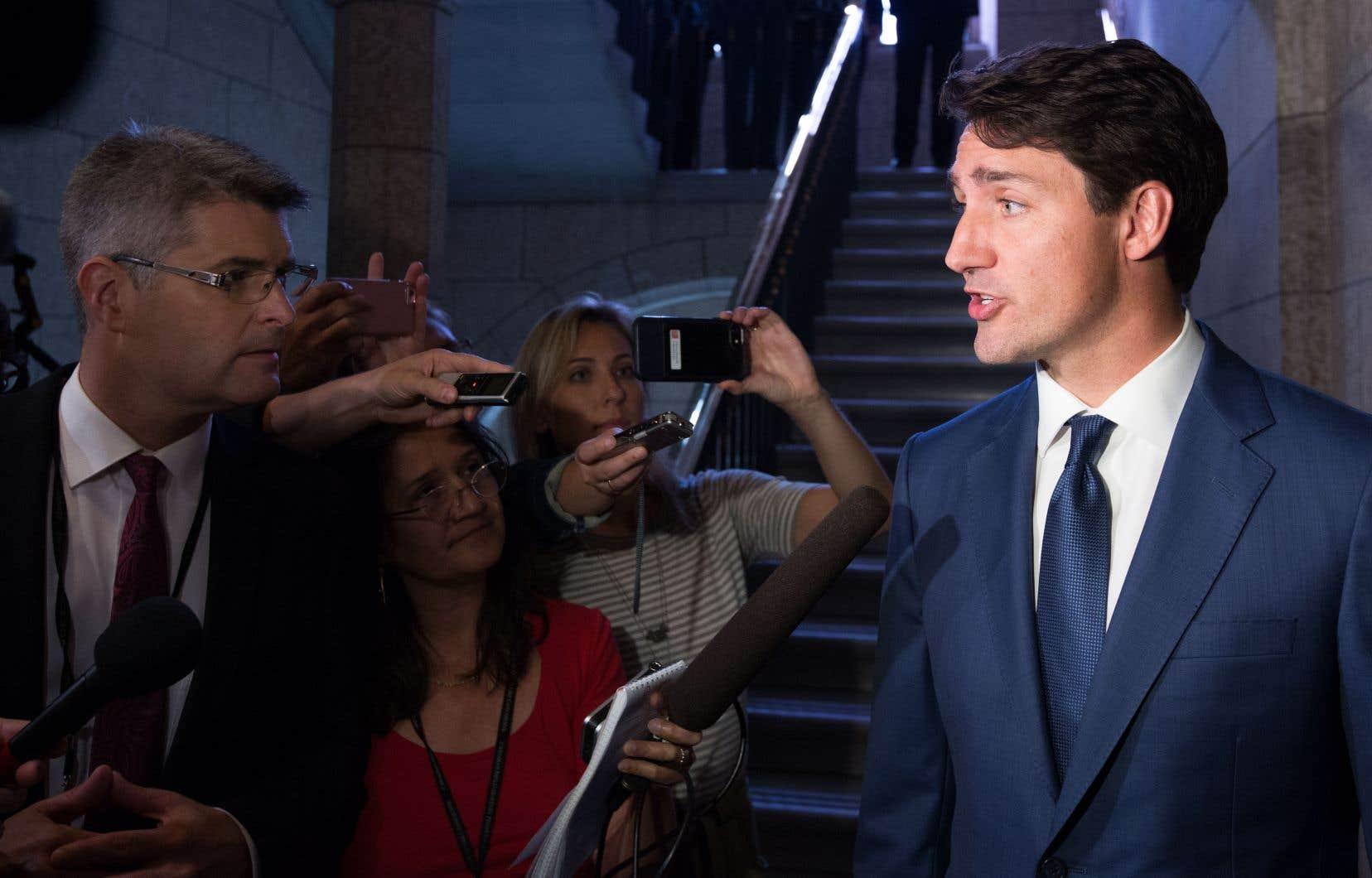 Justin Trudeau se rendra à New York cette semaine, dans le cadre de l'Assemblée générale des Nations unies.
