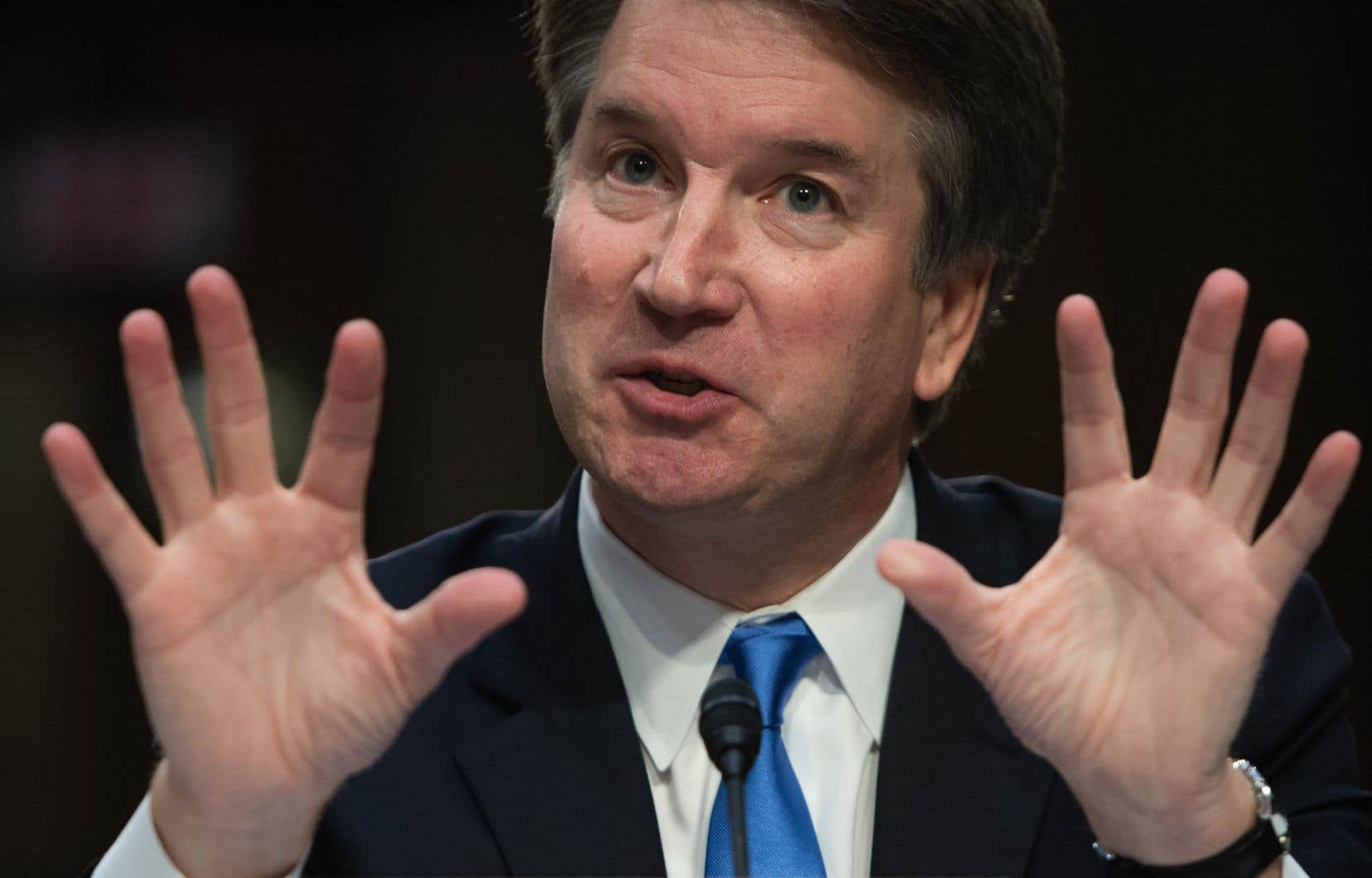 Le candidat de Donald Trump à la Cour suprême des États-Unis, le juge Brett Kavanaugh
