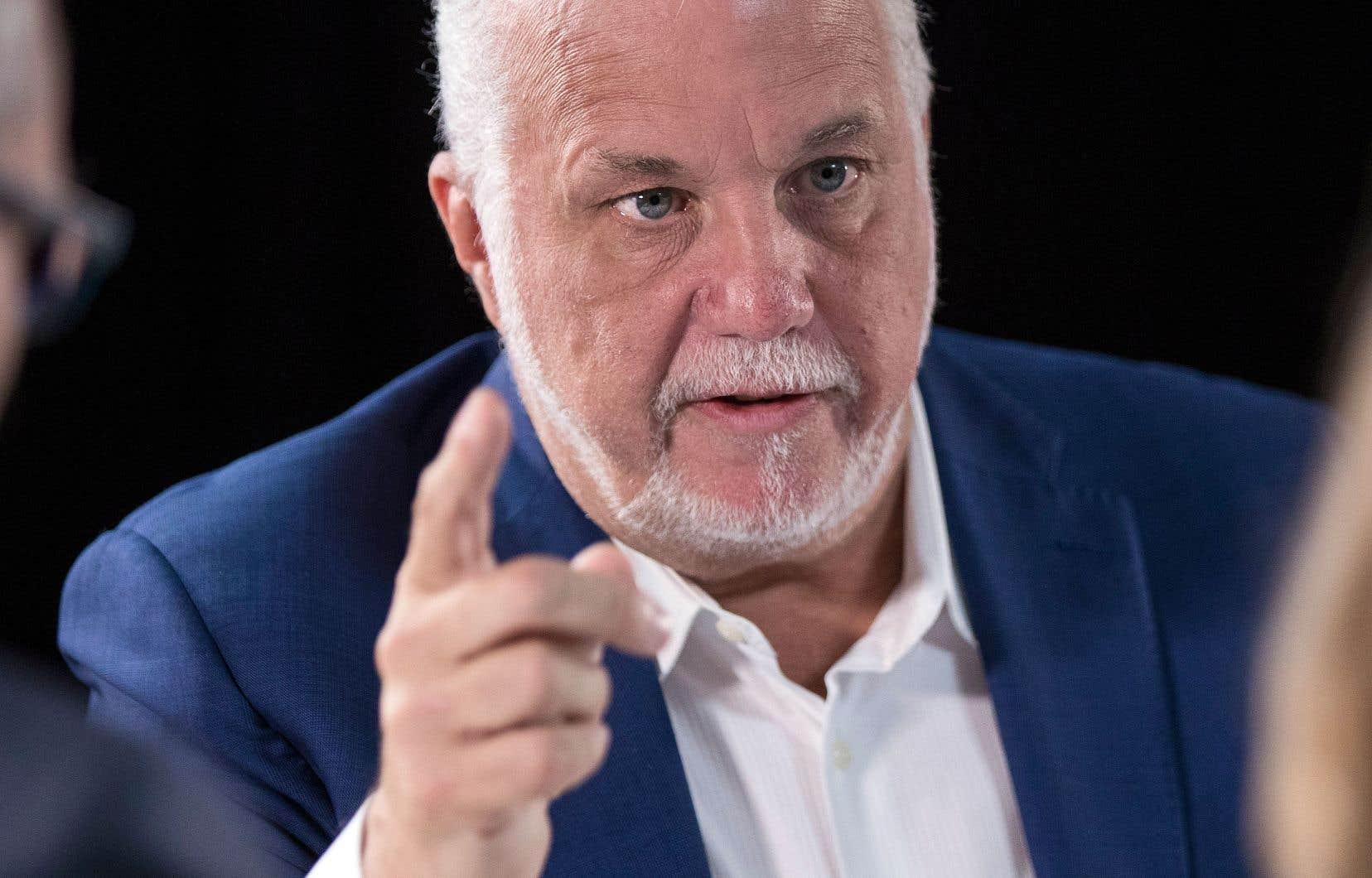 Chef d'un gouvernement minoritaire, Philippe Couillard préférerait déclencher une autre campagne électorale plutôt que de réformer le mode de scrutin.
