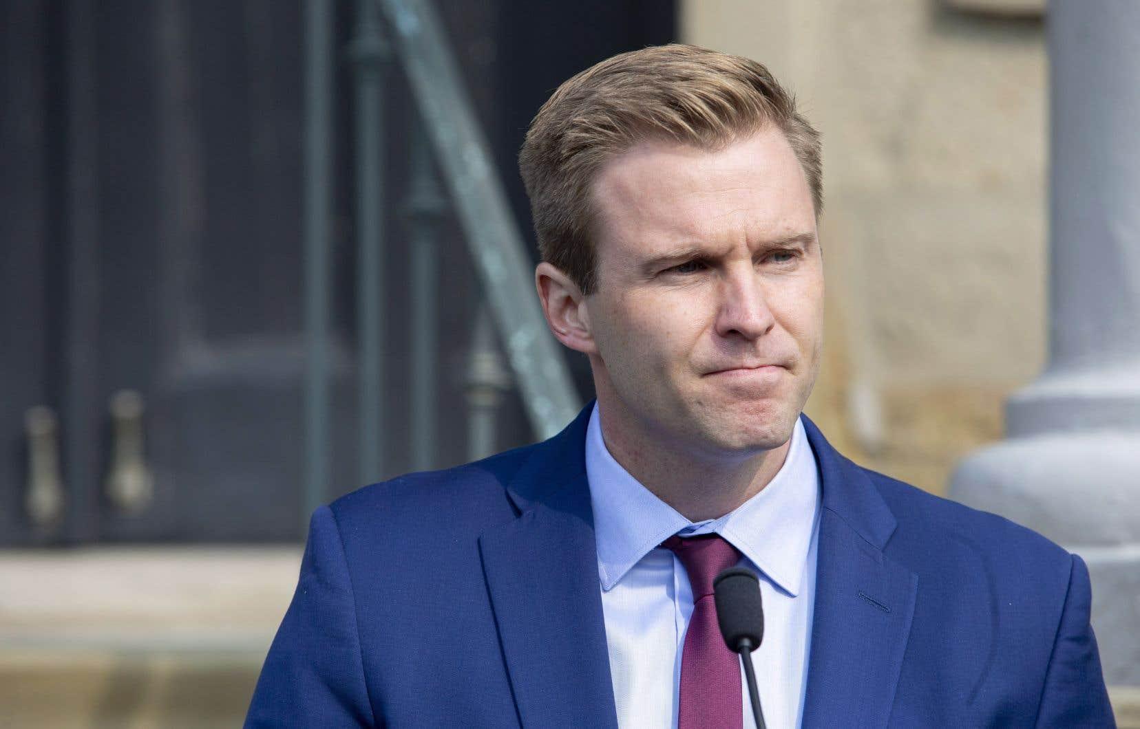Brian Gallant a comparé la situation à l'ancien gouvernement fédéral de Stephen Harper.