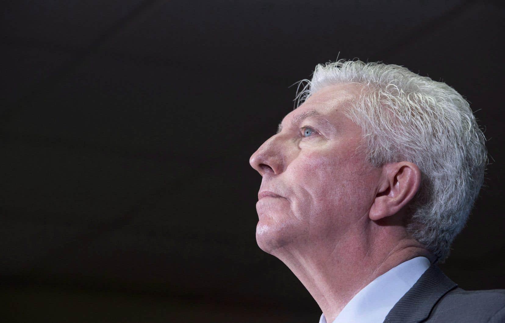 L'ancien chef du Bloc québécois, Gilles Duceppe