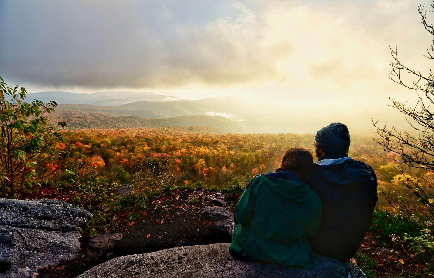 L'automne dans toute sa splendeur dans les Catskills