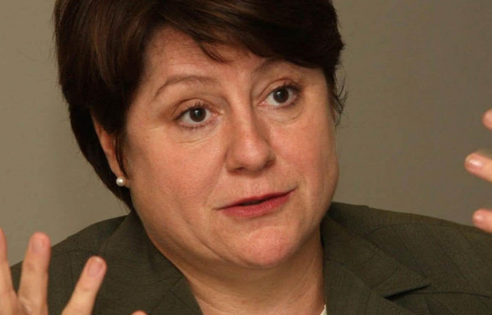 Christiane Pelchat, présidente du Conseil du statut de la femme (CSF)