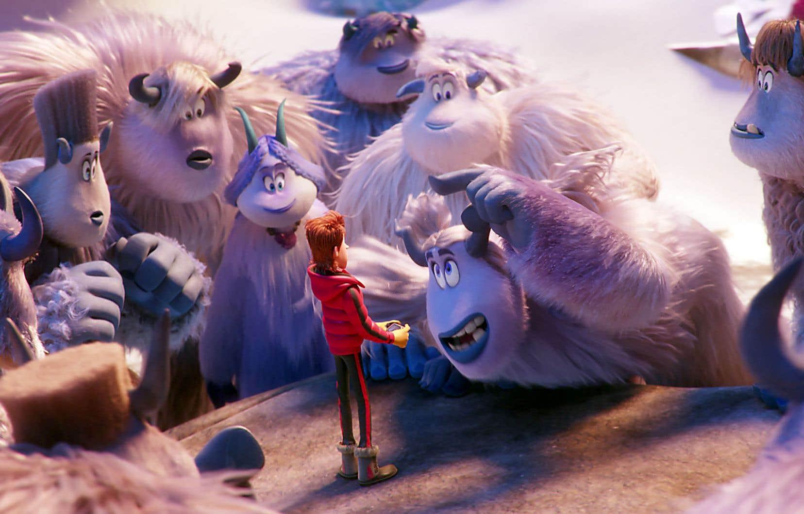 <em>Smallfoot</em> s'affiche à l'occasion comme une comédie musicale.