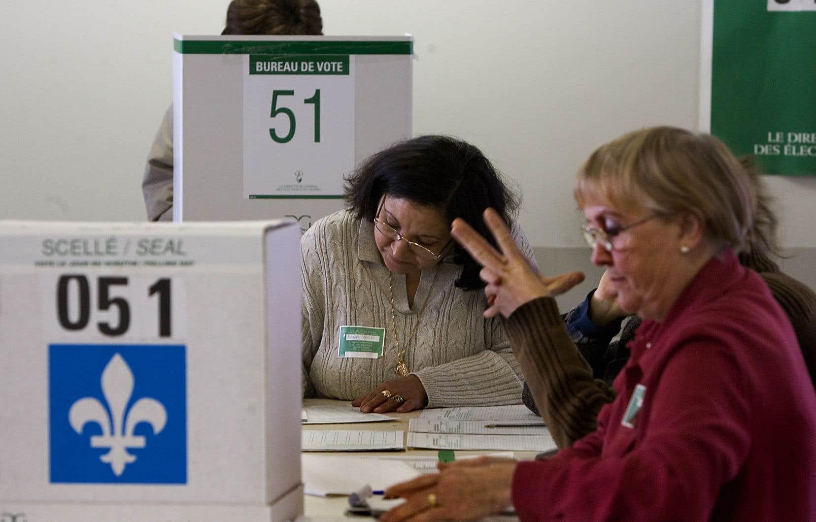 Selon la loi, il est formellement interdit de proposer une rémunération quelconque pour encourager une personne à aller voter.