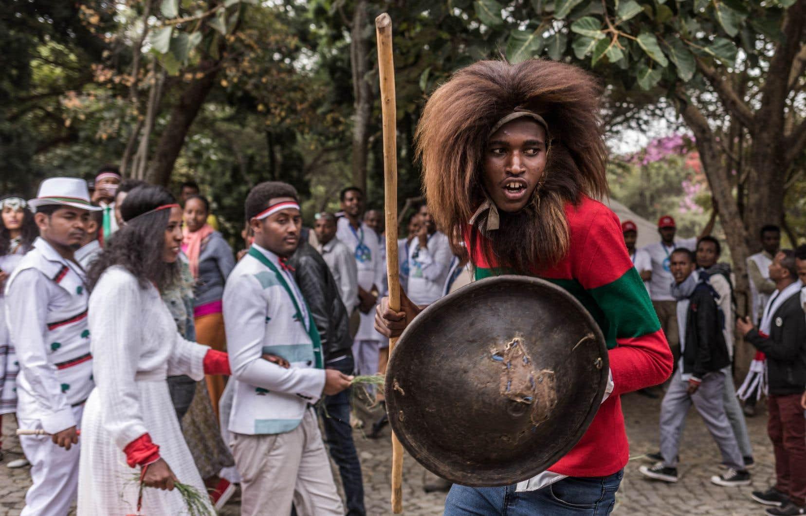 Plusieurs dizaines de milliers de personnes ont participé au festival religieux Irreecha, à Bishoftu.