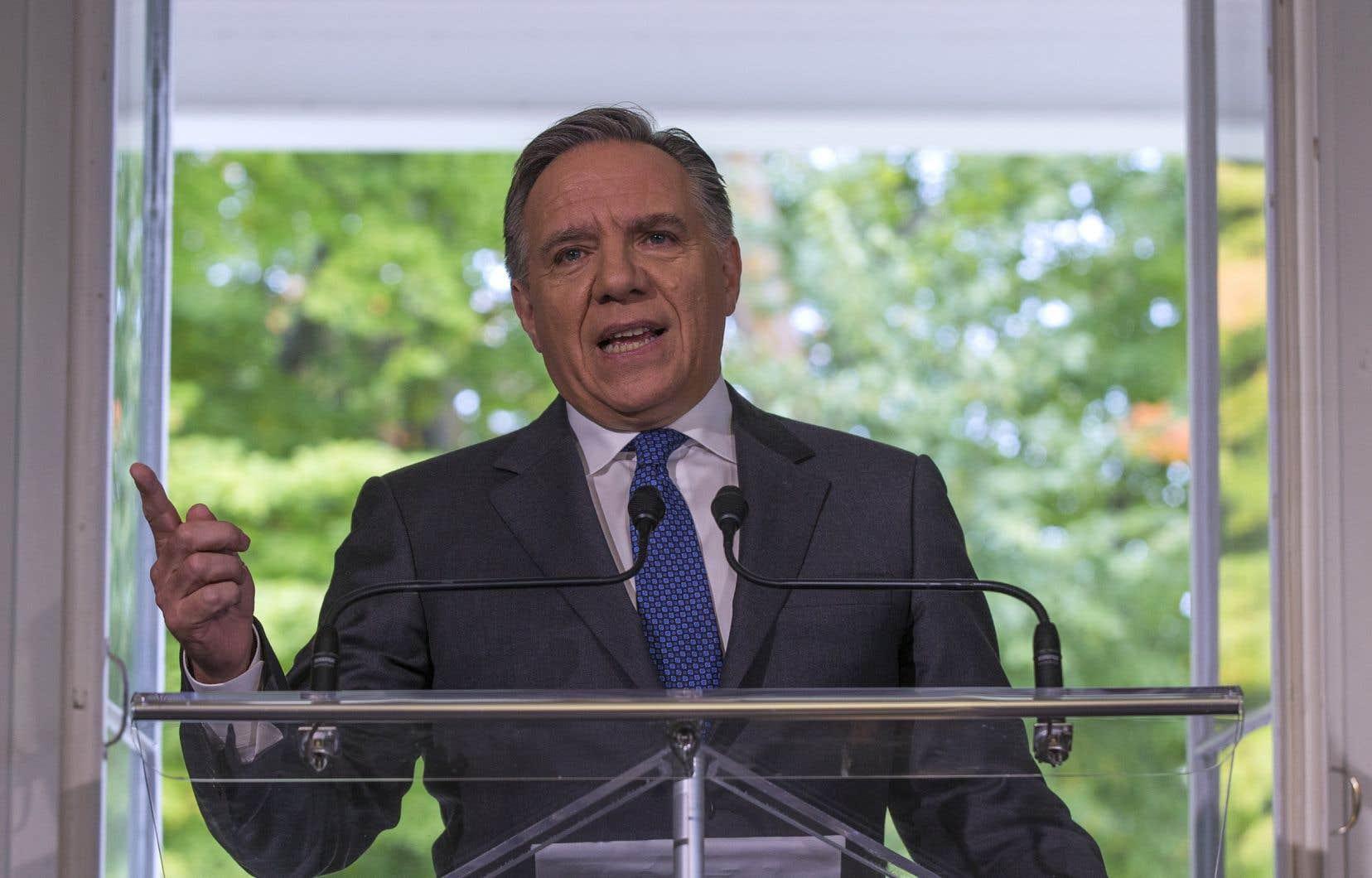 Le premier ministre désigné du Québec, François Legault