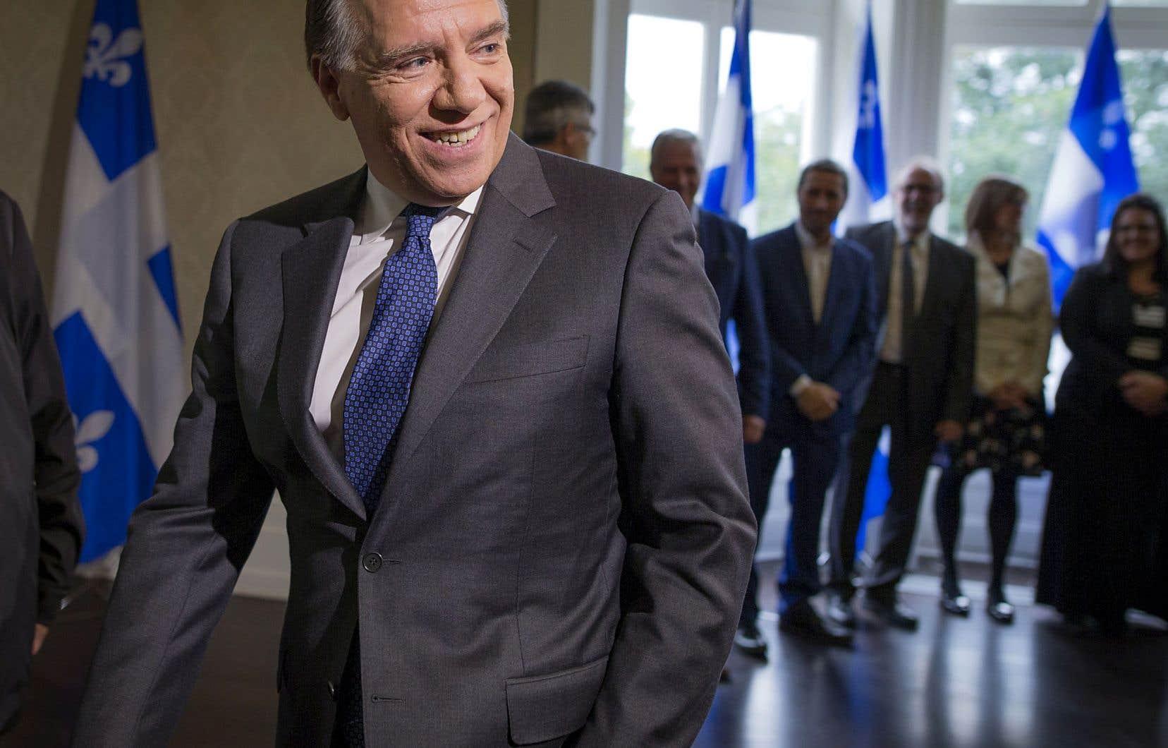 Le premier ministre désigné, le caquiste François Legault, au lendemain de sa victoire éclatante