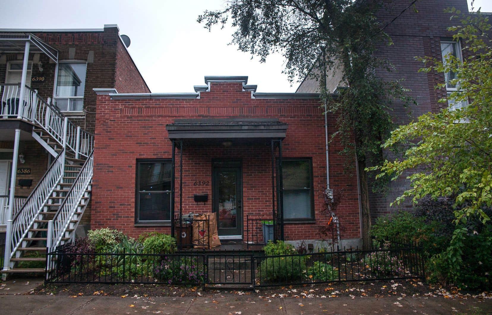 Quelque 561 maisons de type «shoebox» ont été recensées dans l'arrondissement de Rosemont–La Petite-Patrie.