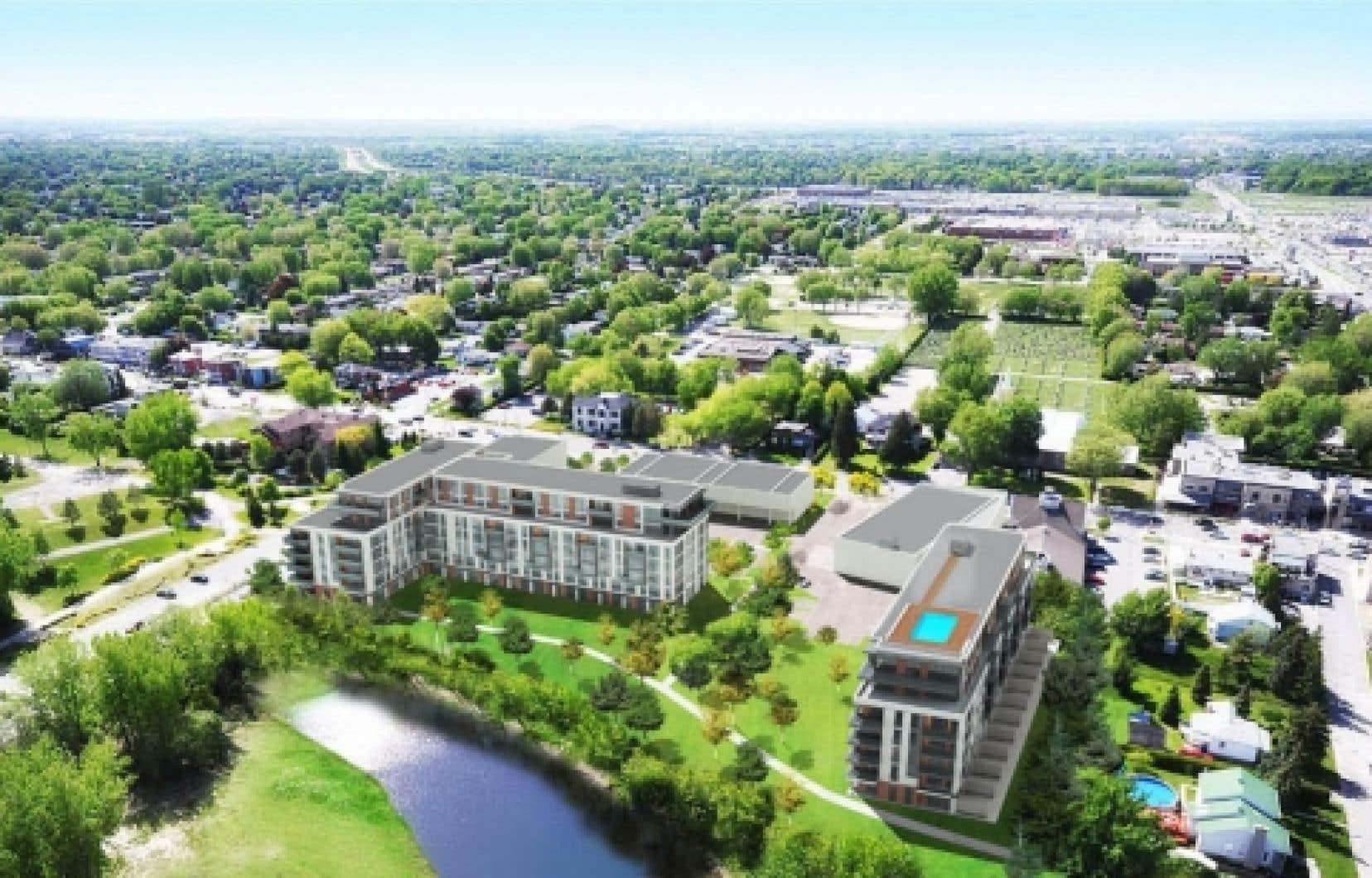 C'est au coeur du Vieux-Repentigny que Pur Immobilia a choisi de construire l'Altéa, qui comprendra une soixantaine de condominiums.