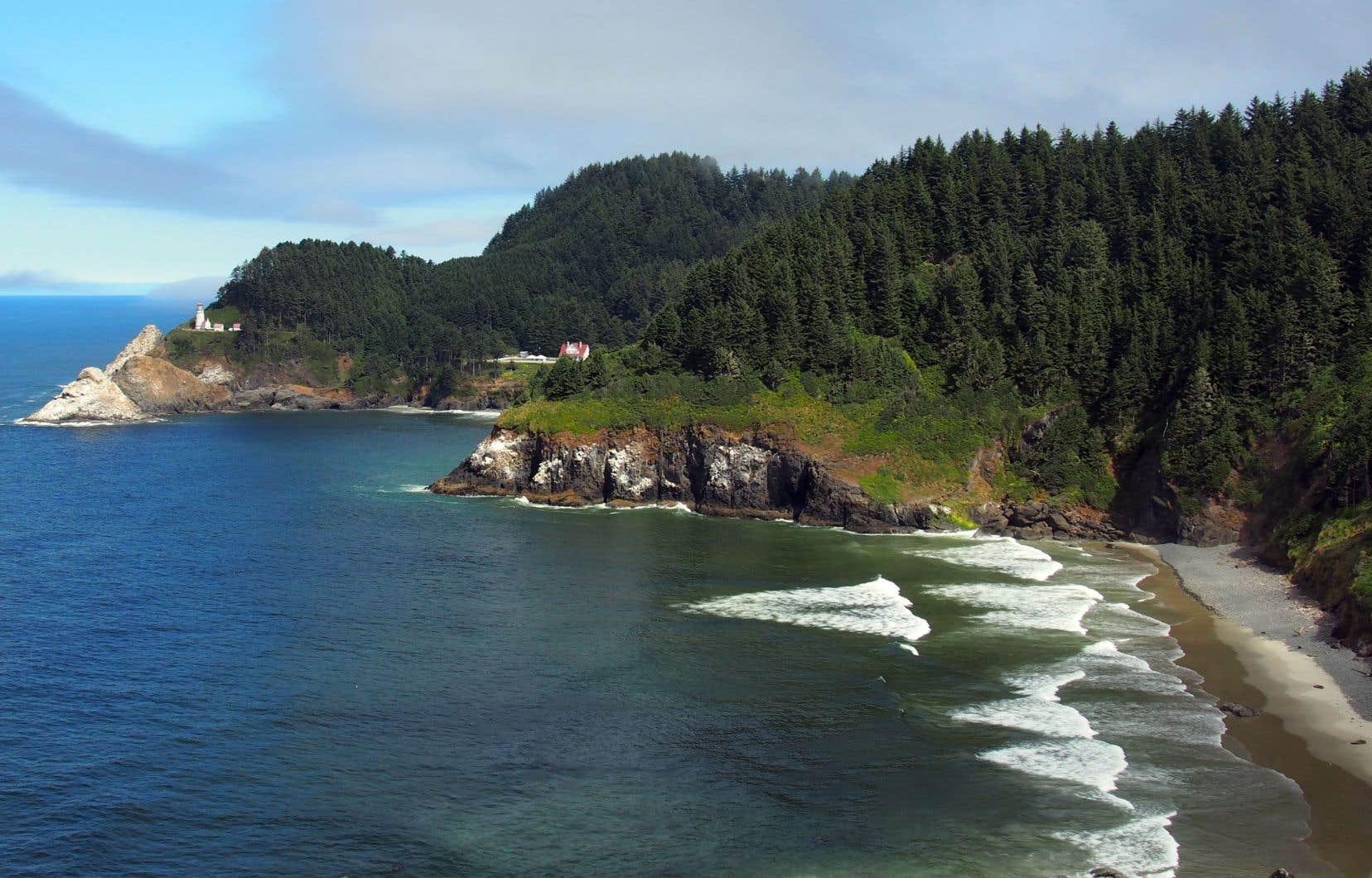 La côte pacifique de l'Oregon propose de fabuleux paysages.