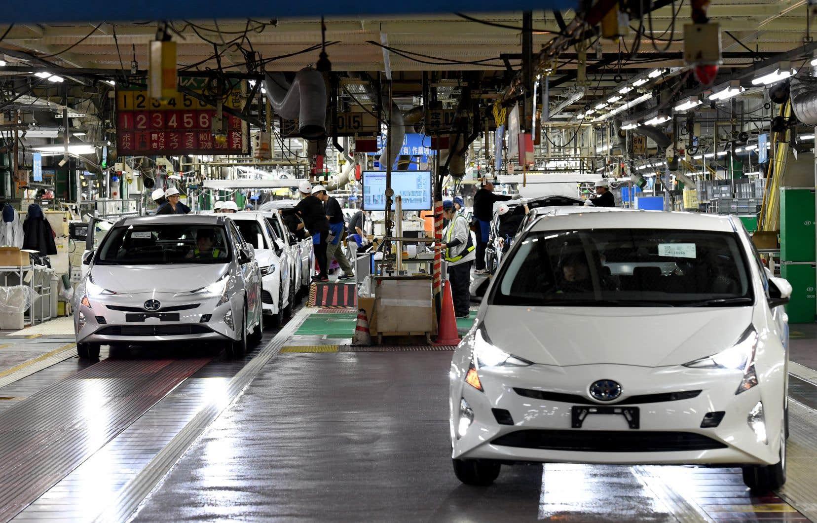 Les automobiles convoquées au garage pour réparation sont essentiellement des modèles hybrides Prius fabriqués entre octobre 2008 et novembre 2014.