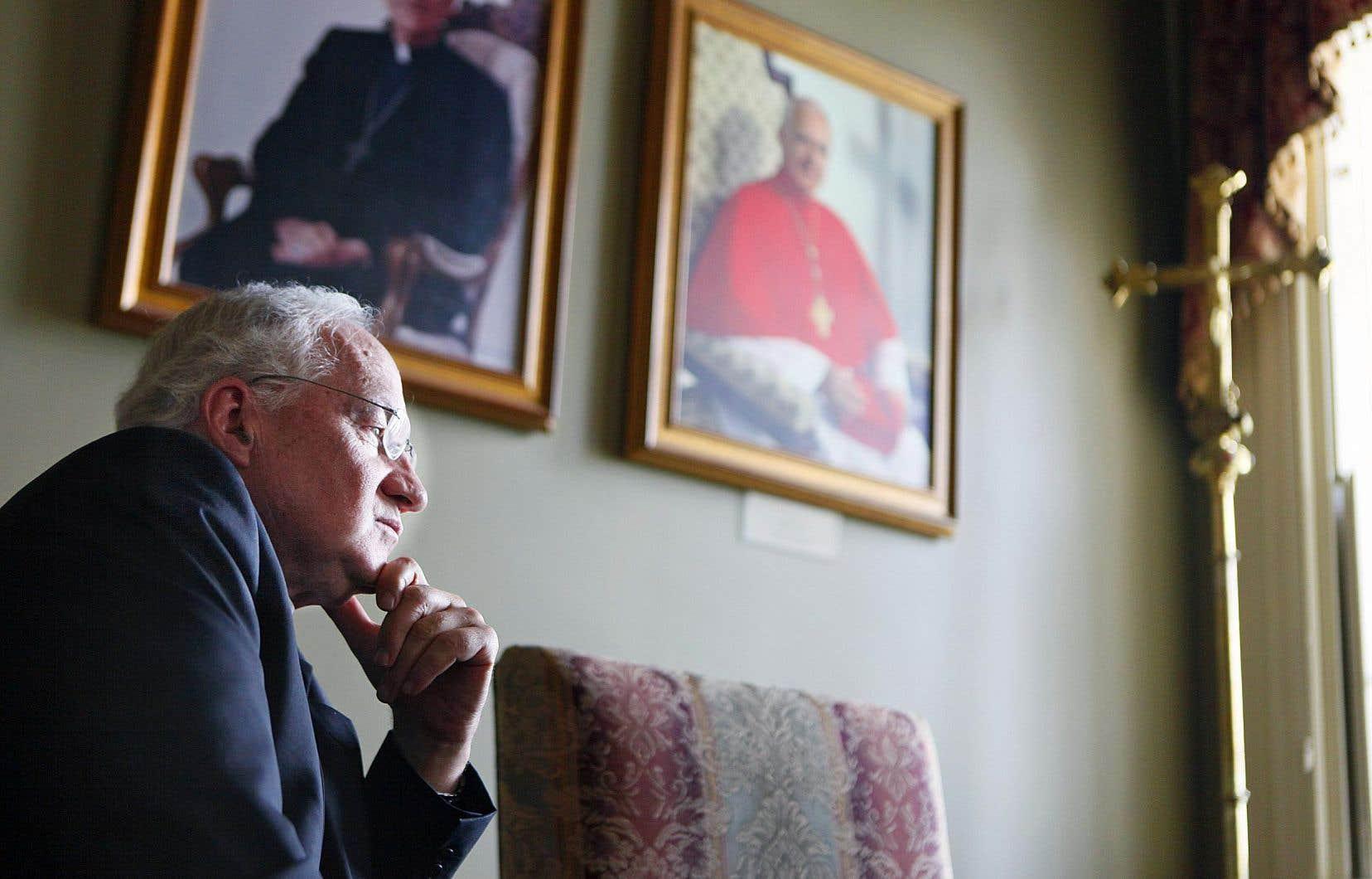 Avant de devenir membre de la Curie romaine, Marc Ouellet a été l'archevêque de Québec de 2003 à 2010.