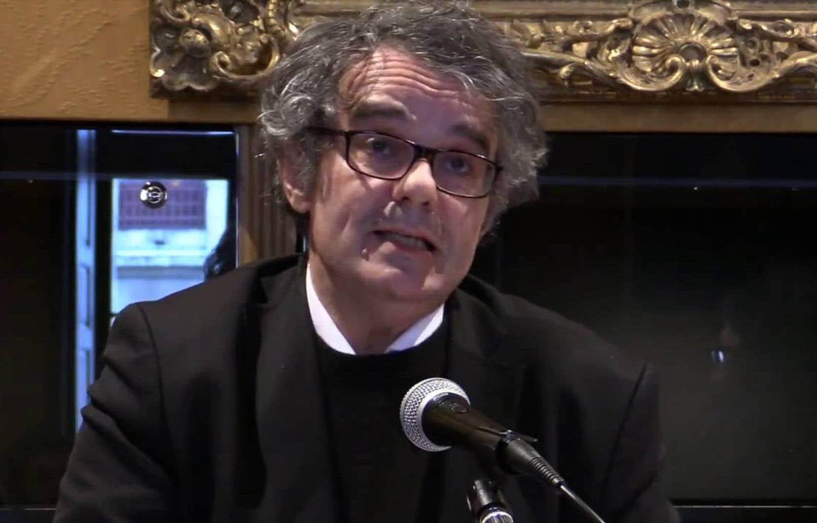Le philosophe français Jean-François Braunstein