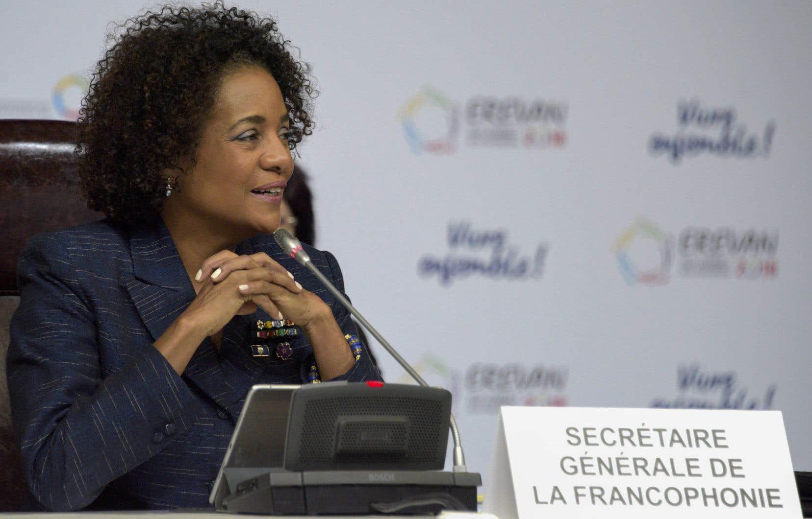 La présidente sortante de l'Organisation internationale de la Francophonie espérait obtenir un deuxième mandat.