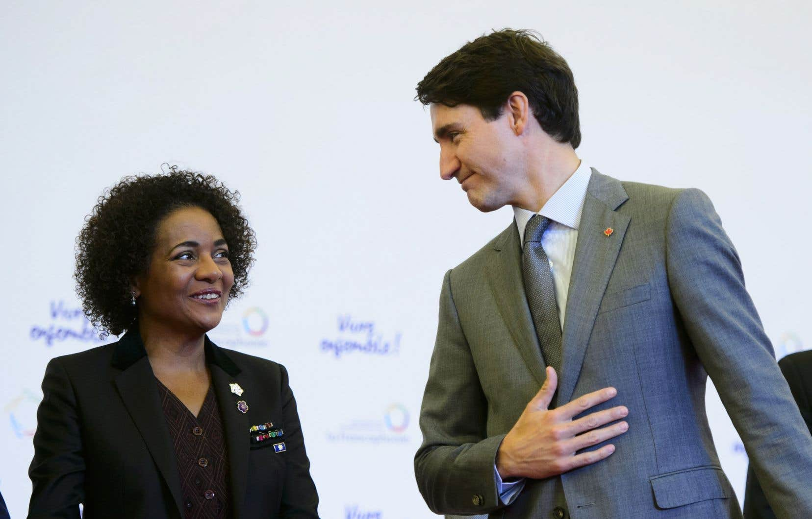 Justin Trudeaua salué le «travail remarquable» accompli par Michaëlle Jean à la tête de l'Organisation internationale de la Francophonie.
